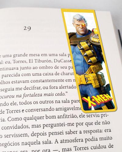 Marcador De Página Magnético Cable - X-Men - MMA237