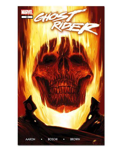 Ímã Decorativo Capa de Quadrinhos Ghost Rider - CQM222