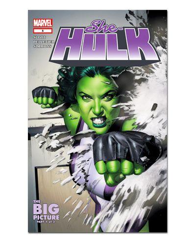 Ímã Decorativo Capa de Quadrinhos She-Hulk - CQM234