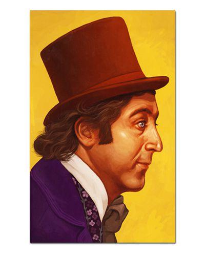 Ímã Decorativo Willy Wonka - A Fantástica Fábrica de Chocolate - IFI30