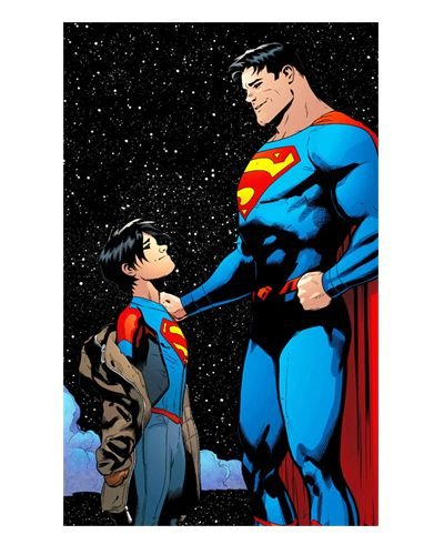 Ímã Decorativo Superman e Jon Kent - DC Comics - IDF49