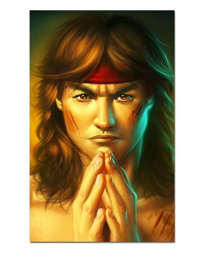 Ímã Decorativo Liu Kang - Mortal Kombat - IMG20