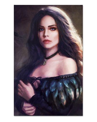 Ímã Decorativo Yennefer - The Witcher - IMG34