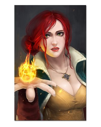 Ímã Decorativo Triss - The Witcher - IMG43