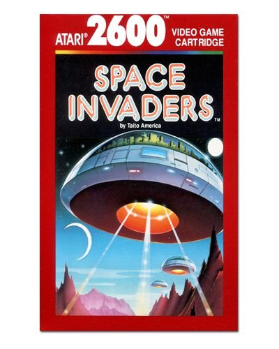 Ímã Decorativo Capa de Game - Space Invaders - ICG14