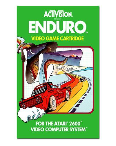 Ímã Decorativo Capa de Game - Enduro - ICG18