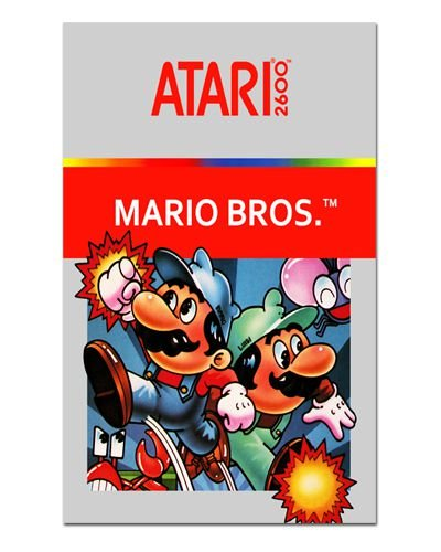 Ímã Decorativo Capa de Game - Mario Bros - ICG20