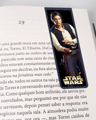 Marcador De Página Magnético Han Solo - Star Wars - MFI289
