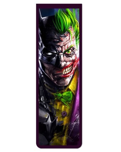 Marcador De Página Magnético Batman e Joker - MDC273
