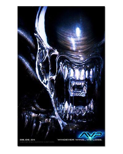 Ímã Decorativo Pôster Alien vs Predador - IPF651
