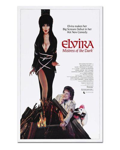 Ímã Decorativo Pôster Elvira - IPF655