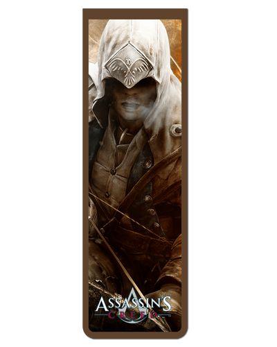 Marcador De Página Magnético Connor - Assassin's Creed - AC36