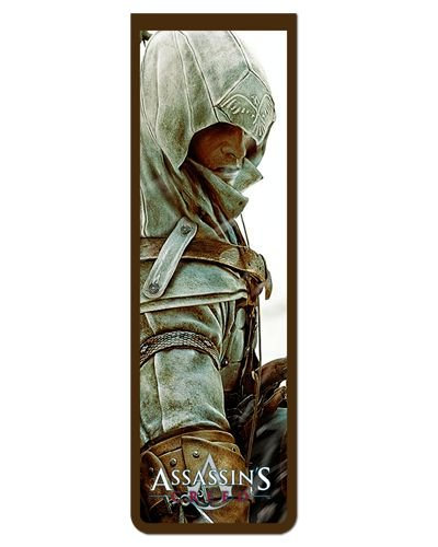 Marcador De Página Magnético Connor - Assassin's Creed - AC37