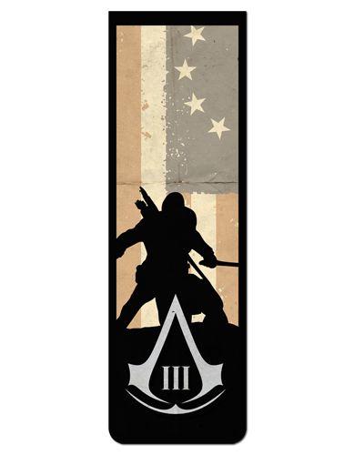 Marcador De Página Magnético Connor - Assassin's Creed - AC38