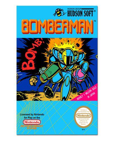 Ímã Decorativo Capa de Game - Bomberman - ICG32