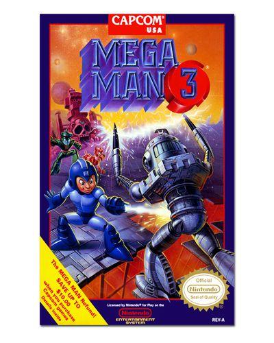 Ímã Decorativo Capa de Game - Mega Man 3 - ICG38