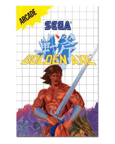Ímã Decorativo Capa de Game - Golden Axe - ICG55