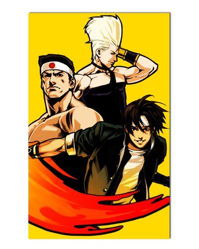 Ímã Decorativo The King of Fighters - IGA54