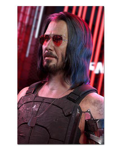 Ímã Decorativo Johnny Silverhand - Cyberpunk 2077 - IGA26