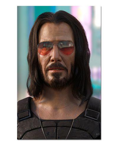 Ímã Decorativo Johnny Silverhand - Cyberpunk 2077 - IGA27