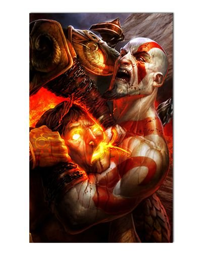 Ímã Decorativo Kratos - God of War - IGA50
