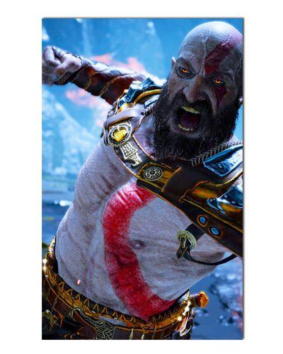 Ímã Decorativo Kratos - God of War - IGA53