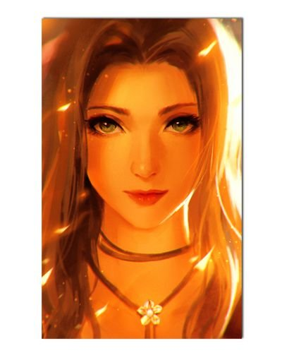Ímã Decorativo Aerith - Final Fantasy - IGA86