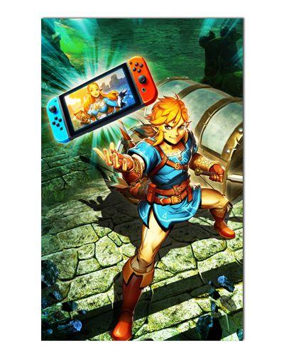 Ímã Decorativo Link - The Legend of Zelda - IGA138