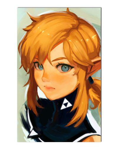 Ímã Decorativo Link - The Legend of Zelda - IGA139