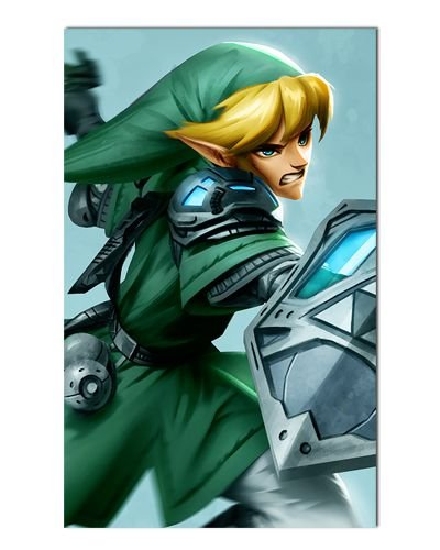Ímã Decorativo Link - The Legend of Zelda - IGA142
