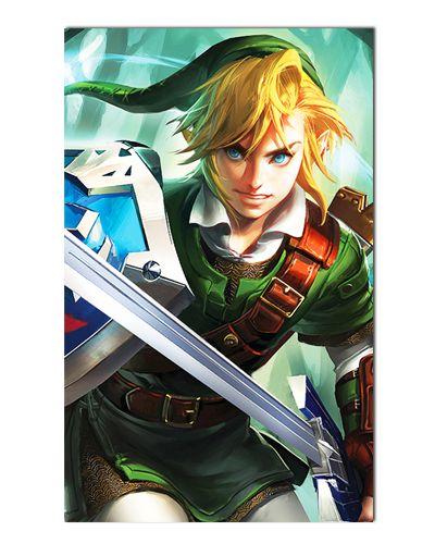 Ímã Decorativo Link - The Legend of Zelda - IGA150