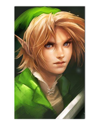Ímã Decorativo Link - The Legend of Zelda - IGA152