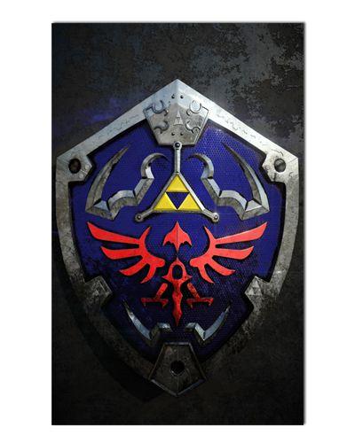 Ímã Decorativo Escudo Triforce - The Legend of Zelda - IGA153