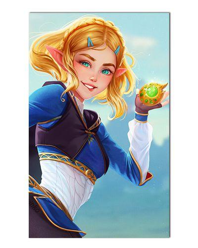 Ímã Decorativo Princesa Zelda - The Legend of Zelda - IGA156