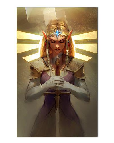 Ímã Decorativo Princesa Zelda - The Legend of Zelda - IGA158