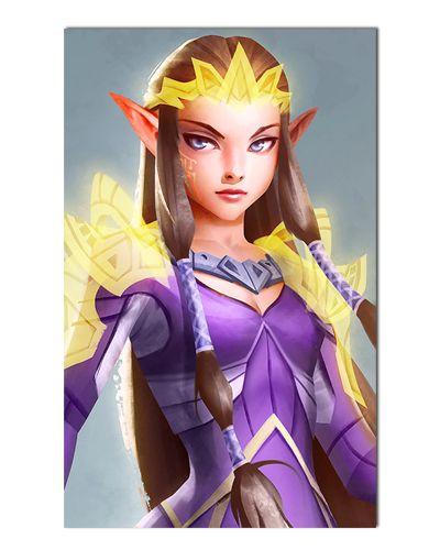 Ímã Decorativo Princesa Zelda - The Legend of Zelda - IGA159
