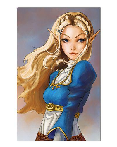 Ímã Decorativo Princesa Zelda - The Legend of Zelda - IGA160