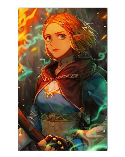 Ímã Decorativo Princesa Zelda - The Legend of Zelda - IGA161