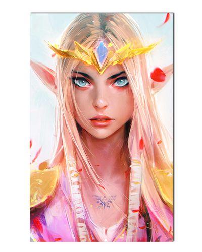 Ímã Decorativo Princesa Zelda - The Legend of Zelda - IGA163
