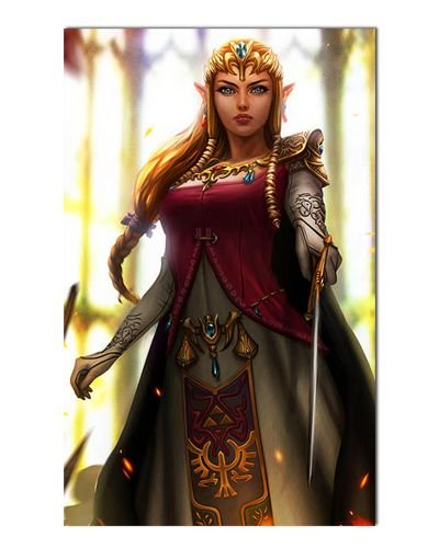 Ímã Decorativo Princesa Zelda - The Legend of Zelda - IGA167