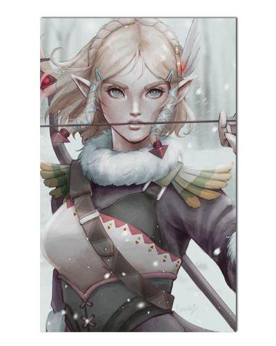 Ímã Decorativo Princesa Zelda - The Legend of Zelda - IGA168