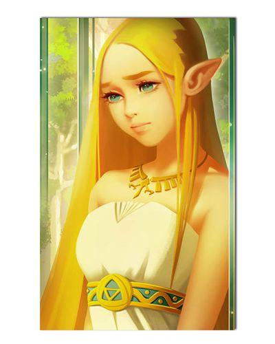 Ímã Decorativo Princesa Zelda - The Legend of Zelda - IGA169