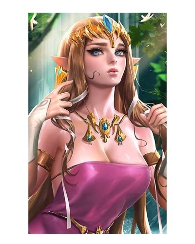 Ímã Decorativo Princesa Zelda - The Legend of Zelda - IGA171