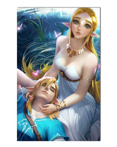 Ímã Decorativo Link e Zelda - The Legend of Zelda - IGA172