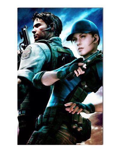 Ímã Decorativo Chris e Claire - Resident Evil - IGA133