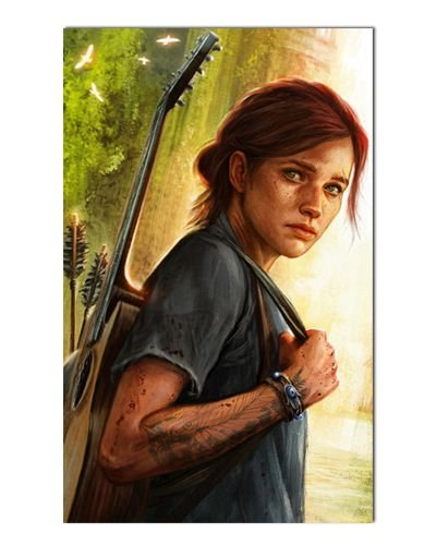 Ímã Decorativo Ellie - The Last of Us - IGA38