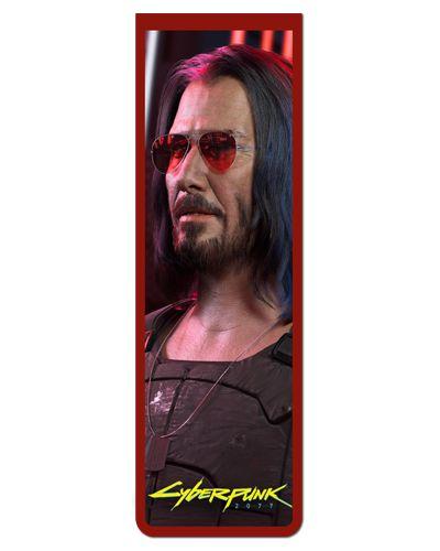 Marcador De Página Magnético Silverhand - Cyberpunk 2077 - MGA56