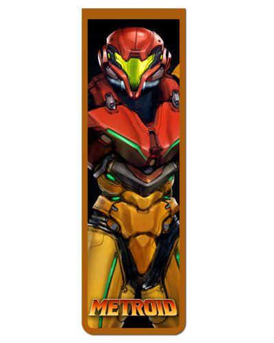 Marcador De Página Magnético Samus Aran - Metroid - MGA94