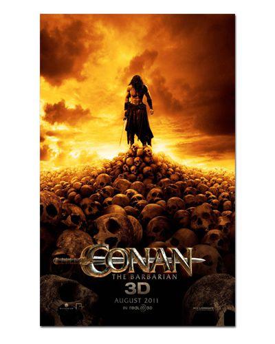Ímã Decorativo Pôster Conan The Barbarian (2011) - IPF131