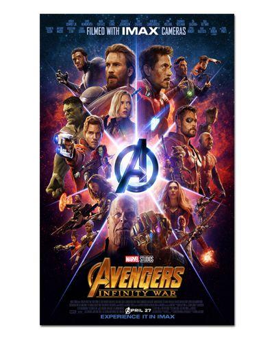 Ímã Decorativo Pôster Avengers Infinity War - IPF157